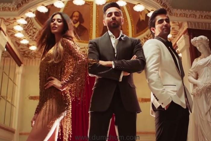 Ayushmann Khurrana shows off his dancing skills in Naah Goriye from upcoming film Bala