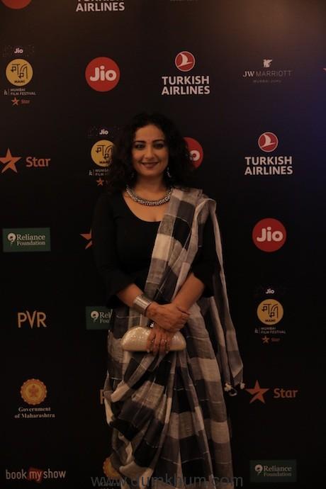 Divya Dutta Jio MAMI 21st Mumbai Film Festival with Star