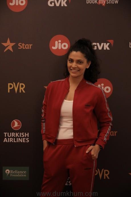 Image 5 - Saiyami Kher at Jio MAMI 21st Mumbai Film Festival with Star