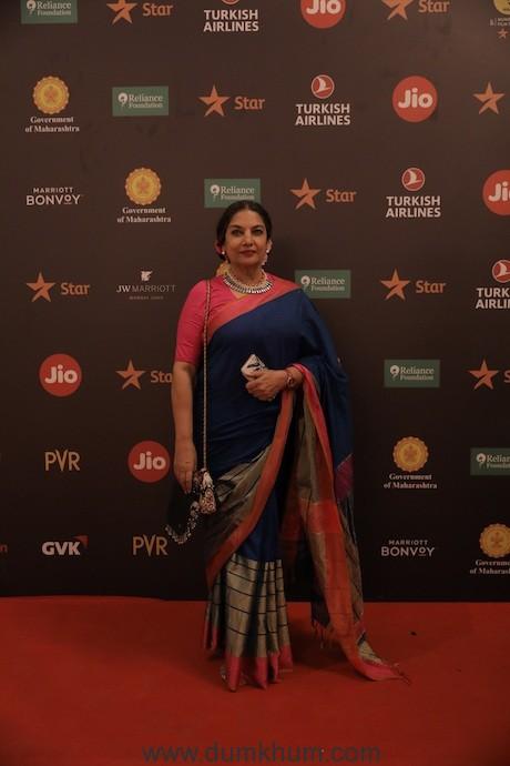 Image 6 - Shabana Azmi at Jio MAMI 21st Mumbai Film Festival with Star
