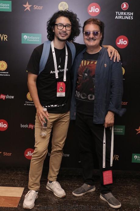 Image 8 - Nicholas Kharkongor with Vinay Pathak at the Jio MAMI 21st Mumbai Film Festival with Star 2019