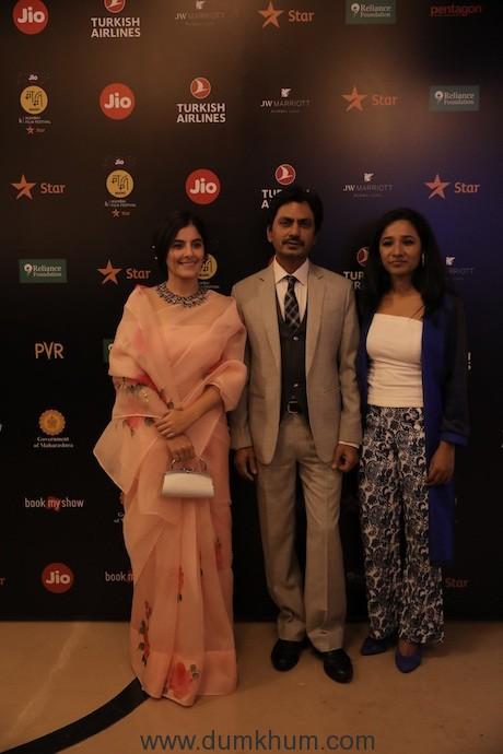 Isha Talwar, Nawazuddin Siddiqui, Tannishtha Chatterjee at Jio MAMI 21st Mumbai Film Festival 2019