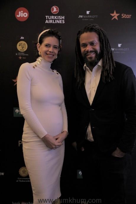 Kalki Koechlin and Franklin Leonard at the Jio MAMI 21st Mumbai Film Festival with Star
