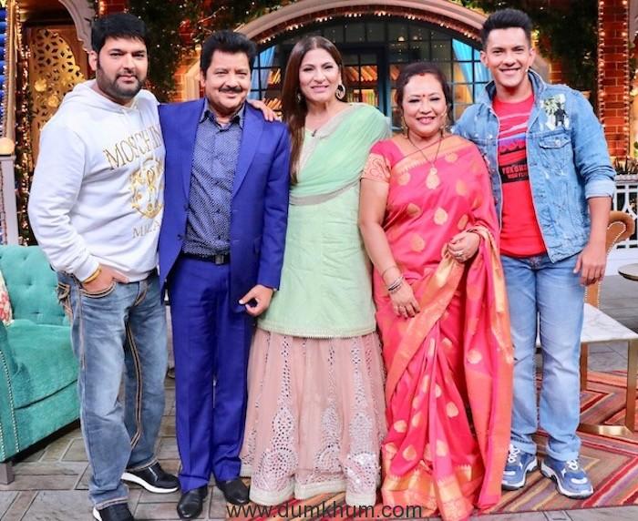Padma Shri Udit Narayan on The Kapil Sharma Show !-