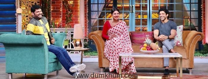 Priyanka Chopra & Farhan akhtar will be soon seen sharing the screen with Kapil Sharma-