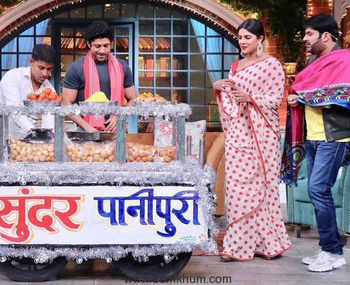Priyanka Chopra & Farhan akhtar will be soon seen sharing the screen with Kapil Sharma -1