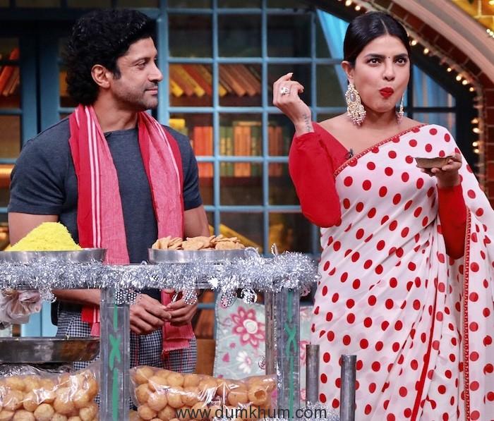 Priyanka Chopra & Farhan akhtar will be soon seen sharing the screen with Kapil Sharma -3