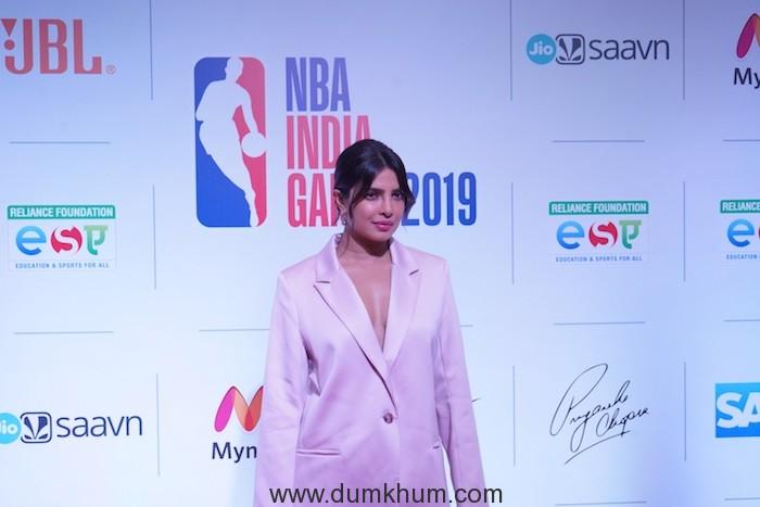 Priyanka Chopra Jonas at the NBA India Games Welcome Reception