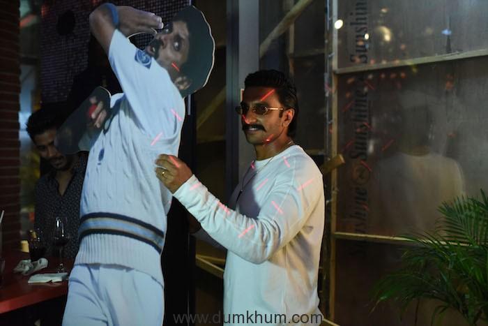Ranveer Singh at Derby BKC