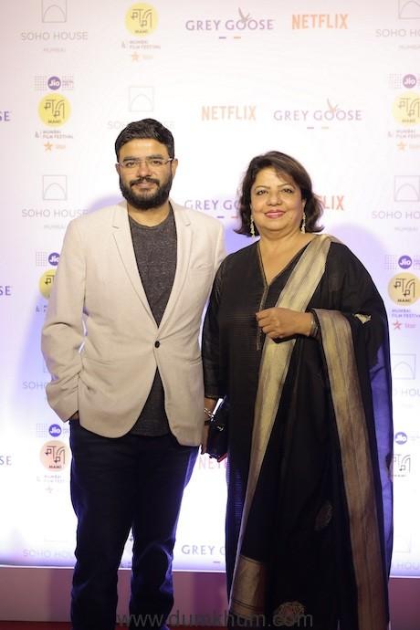 Siddharth Chopra and Madhu Chopra at the Annual Festival Soiree of the Jio MAMI 21st Mumbai Film Festival with Star at Cecconi's Soho House Mumbai