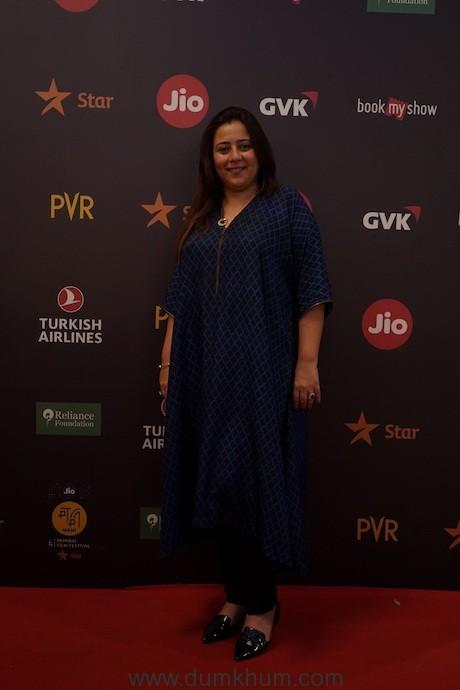 Srishti Arya for Artistic Freedom at Jio MAMI 21st Mumbai Film Festival with Star