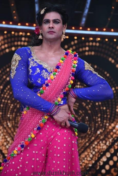 Vishal Aditya Singh turns into a Kinnar for Nach Baliye 9-