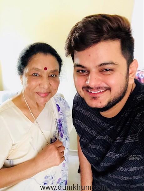 Vishal Mishra gets Asha Bhosle to sing in Saand Ki Aankh-