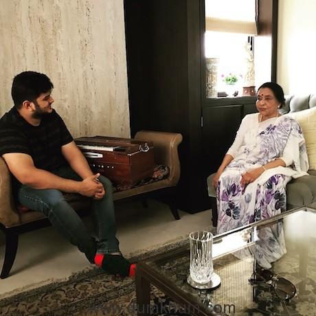 Vishal Mishra gets Asha Bhosle to sing in Saand Ki Aankh