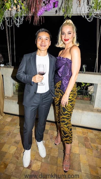 Karan Johar hosted a party for pop diva Katy Perry