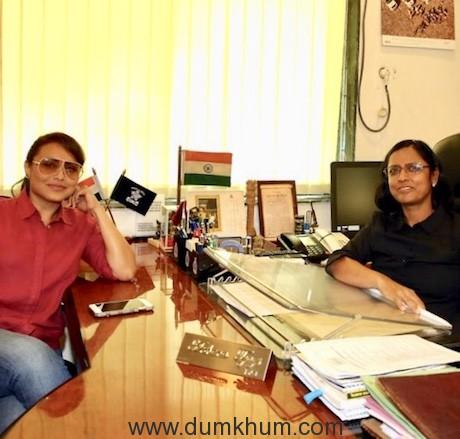Rani met super cop Archana Tyagi