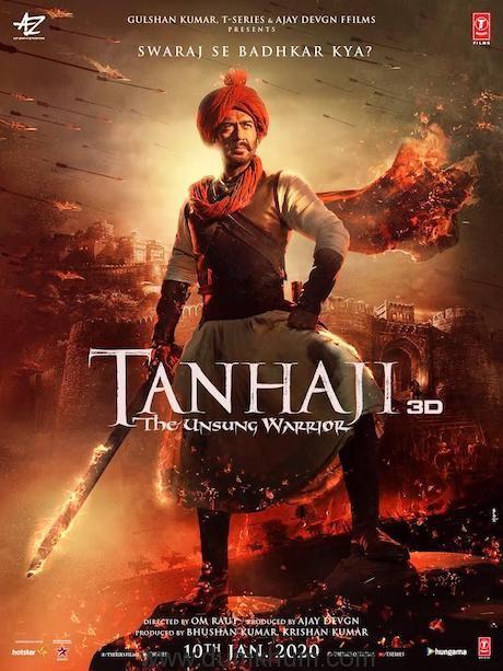 Tanhaji The Unsung Warrior Poster