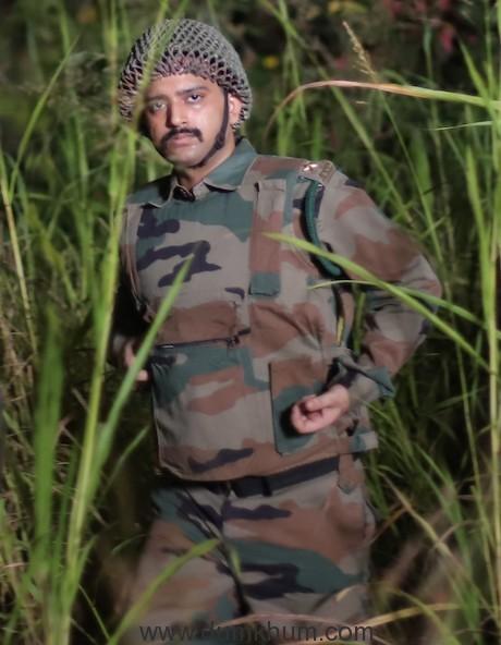Abhijeet Singh in Movie BUNKER(2)