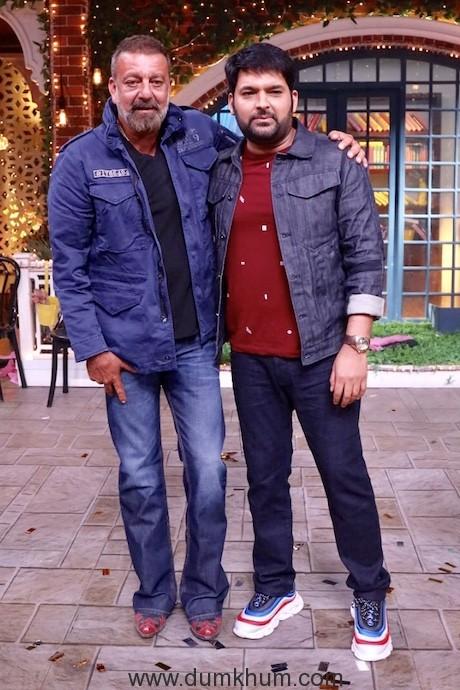 Kapil and Sanjay Dutt