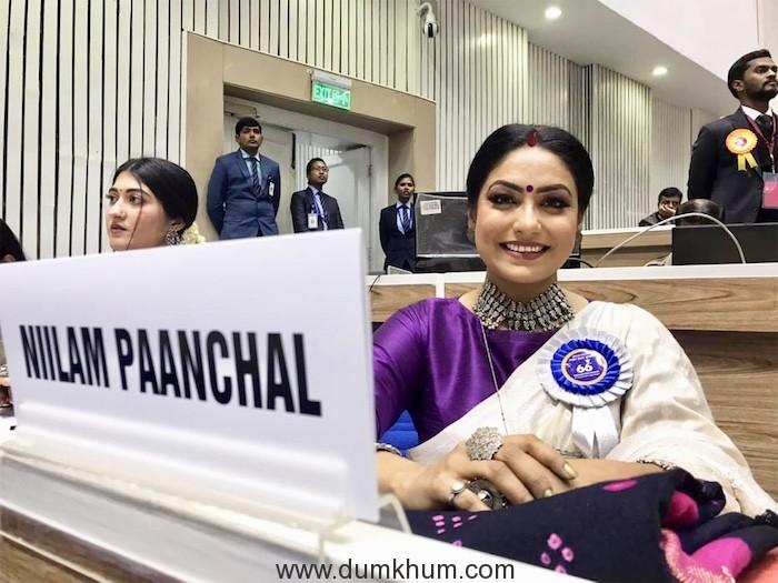 National Award Winning Actress Niilam Paanchal