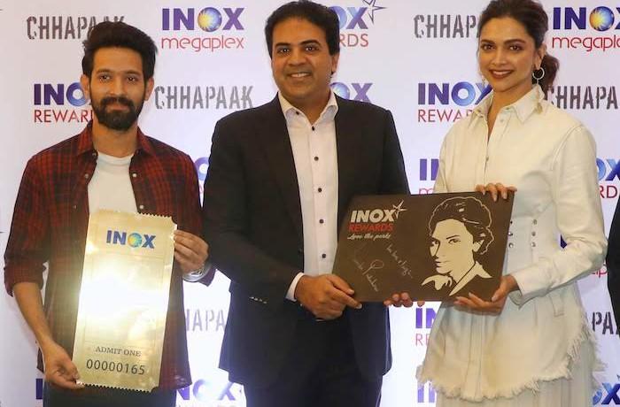 INOX celebrates key milestones with Deepika Padukone at INOX Megaplex