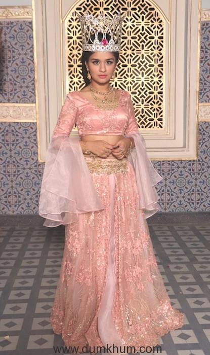 Avneet Kaur as Queen Yasmine in Sony SAB's Aladdin Naam Toh Suna HOga