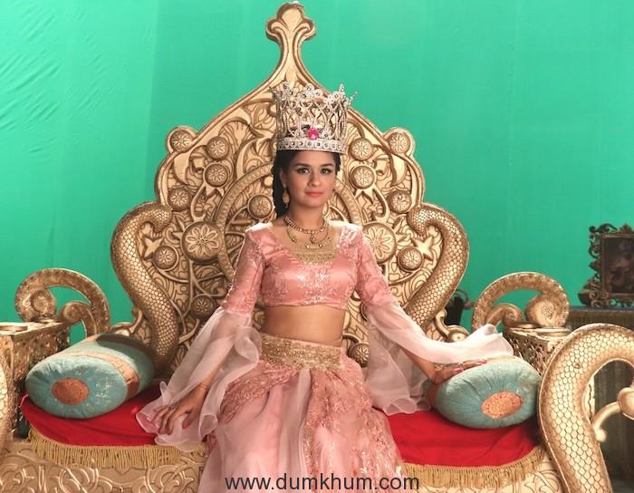 Avneet Kaur as Queen Yasmine on Sony SAB's Aladdin Naam Toh Suna Hoga