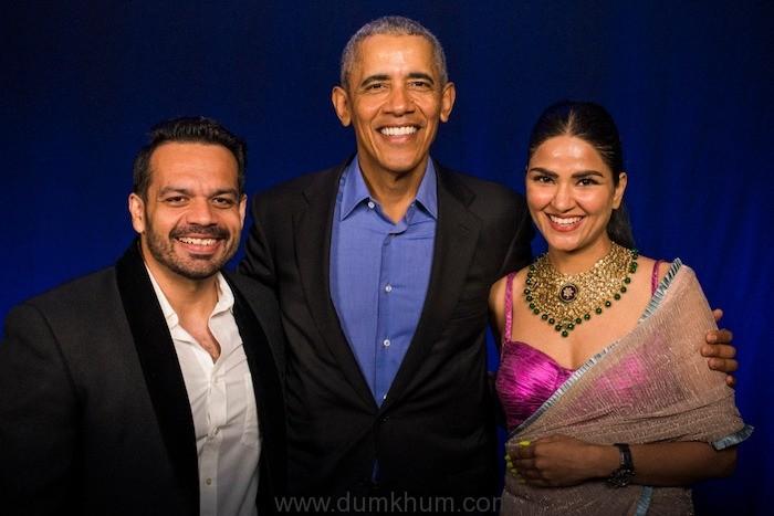 Gaurav Taneja + Ritu Rathee+ Barack Obama