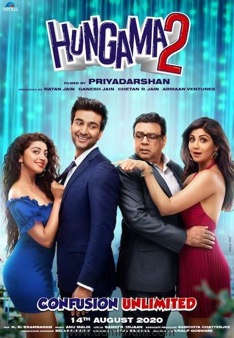 Ratan Jain & Priyadarshan's Hungama 2 wraps its first schedule in Mumbai !