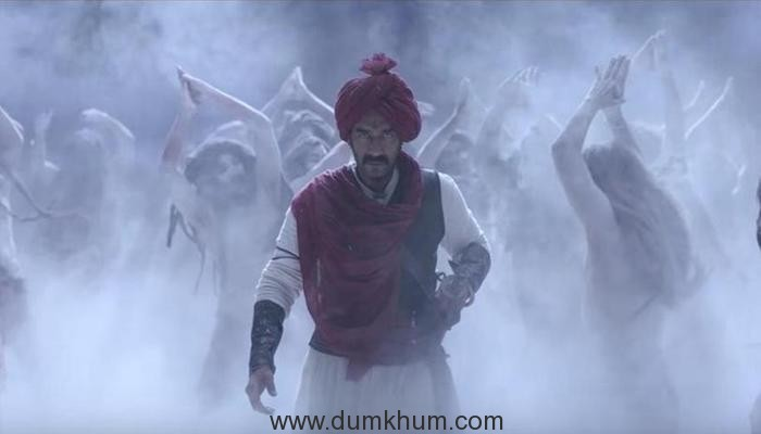Tanhaji- The Unsung Warrior theme song Ghamand Kar