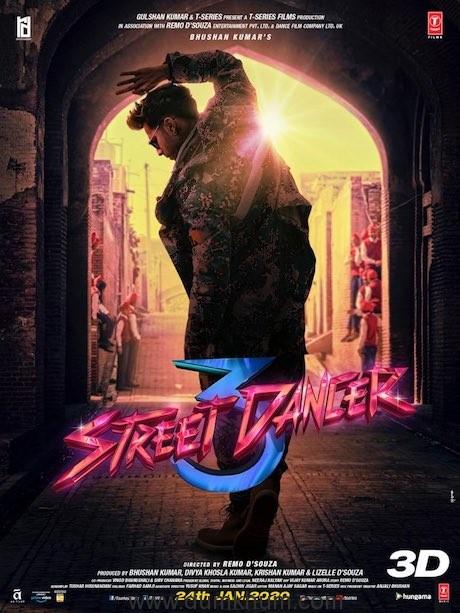 Varun Dhawan shares new poster of Street Dancer 3D