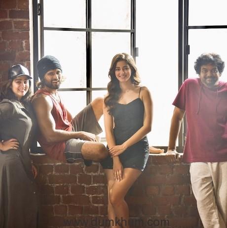 Ananya Pandey Joins Vijay Deverakonda, Puri Jagannadh's Film -