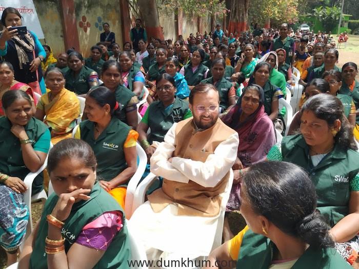 Shri Prakash Javadekar on Sanitary Pads !-