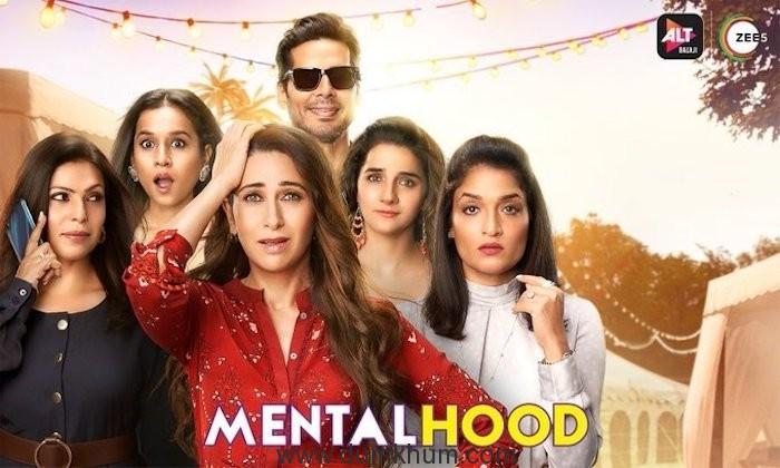 Karisma Kapoor is amazed by the kids on the set of ALTBalaji and Zee5's Mentalhood !