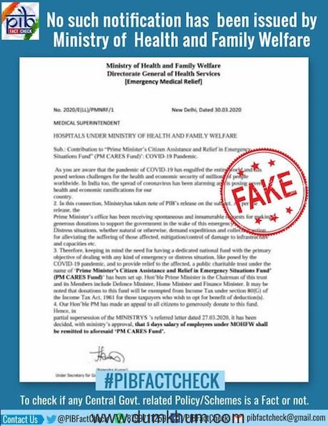PIB Fact Check-