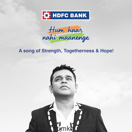 HDFC Bank, A.R. Rahman & Prasoon Joshi present #HumHaarNahiMaanenge !