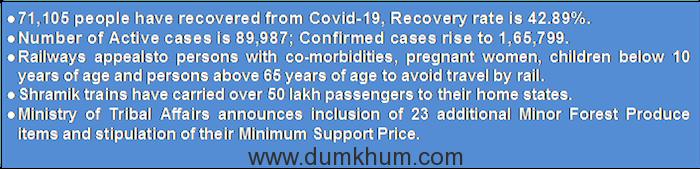 The Daily Covid Bulletin from PIB Mumbai
