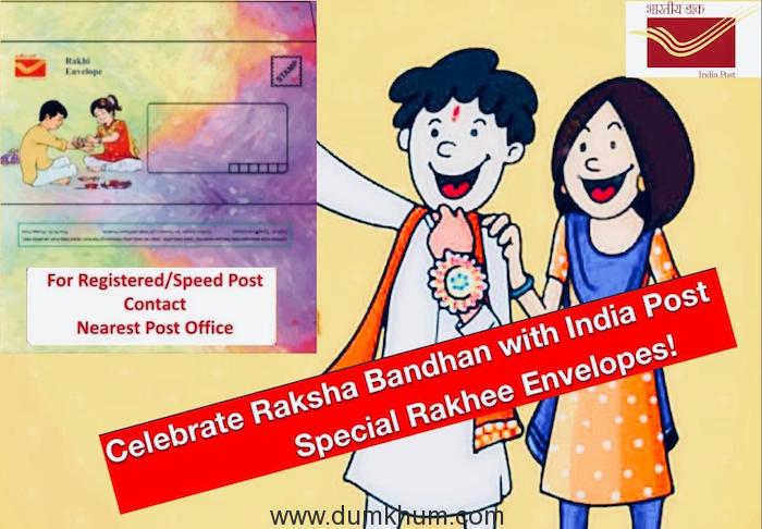 India Post, Mumbai launches distinctive waterproof Rakhee envelopes