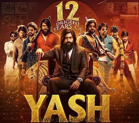 KGF Superstar Yash celebrates 12 glorious years!