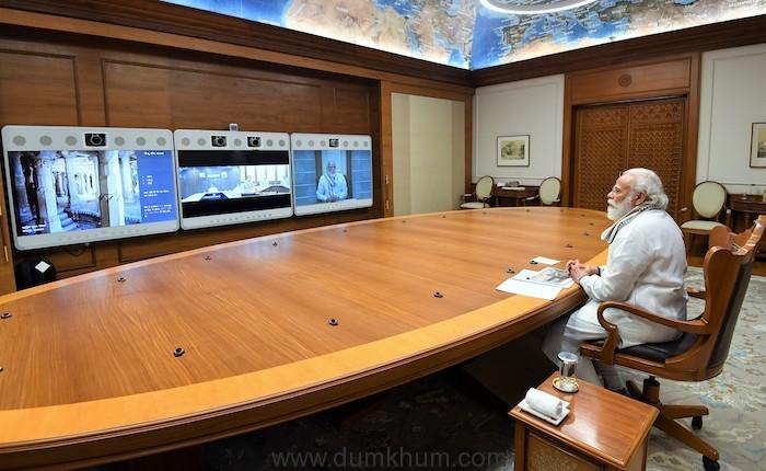PM reviews development work at Kedarnath Dham-