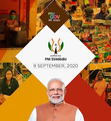 PM holds 'Svanidhi Samvaad' with street vendors from Madhya Pradesh