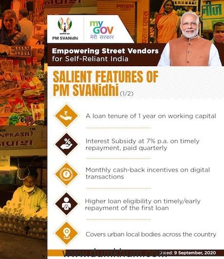 PM holds 'Svanidhi Samvaad' with street vendors from Madhya Pradesh -