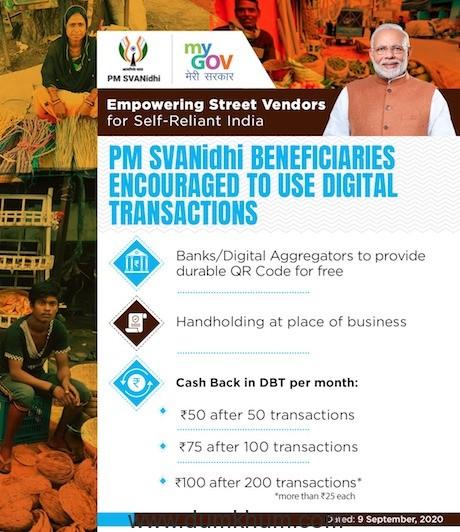 PM holds 'Svanidhi Samvaad' with street vendors from Madhya Pradesh -4