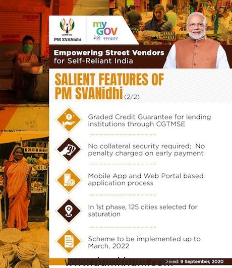 PM holds 'Svanidhi Samvaad' with street vendors from Madhya Pradesh -7