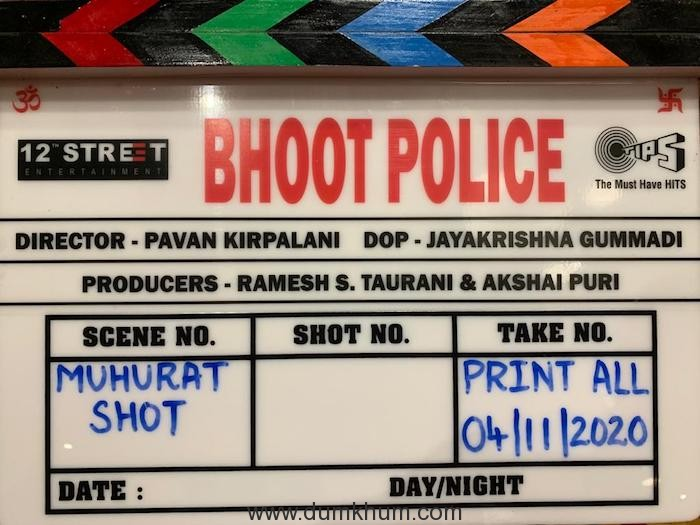 Bhoot Police - Clapboard