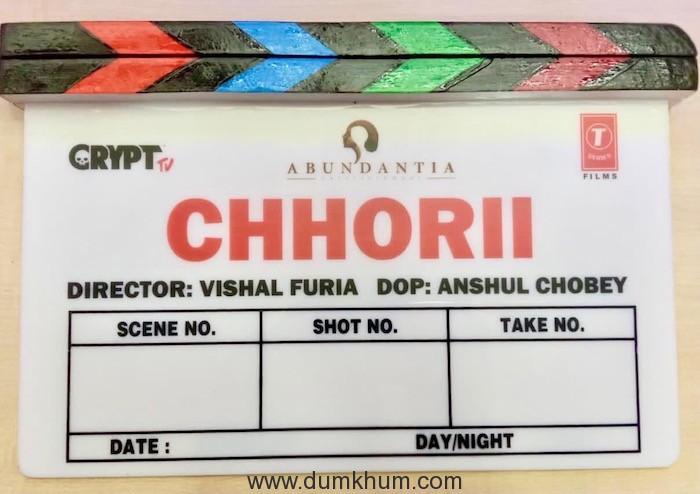 Chhorii goes on floors today in Madhya Pradesh