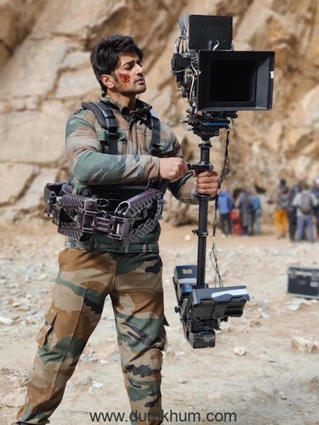 Nishant Singh Malkhani stepped behind the camera for LAC-1