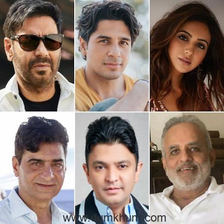 Ajay Devgn, Sidharth Malhotra & Rakul Preet Singh come together for Bhushan Kumar, Indra Kumar & Ashok Thakeria's 'Thank God'