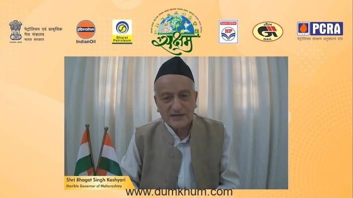 Hon'ble Governor of Maharashtra Shri Bhagat Singh Koshyari launches SAKSHAM-2021