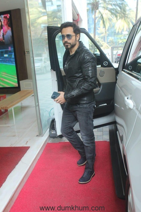 Emraan Hashmi snapped at the T-Series office
